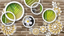 Custom 3D Mural Wallpaper 3D I...