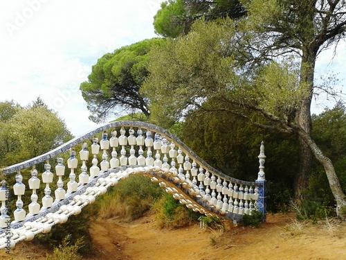 Photo Bridge Over River