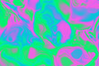 Leinwandbild Motiv An abstract wavy psychedelic background image.