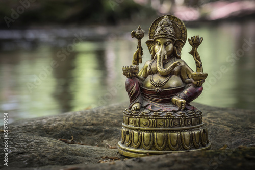 Photo statue of ganesha