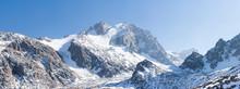 High Mountains Landsape Panora...