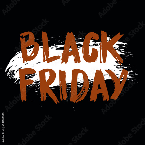 Photo Black Friday art, for use in the most anticipated week of the year