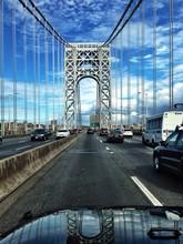 Vehicles On George Washington Bridge