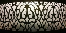 Silhouette Of Wrought Iron