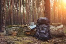 Tourist Backpack, Metal Mug An...