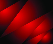 Modern Red Gradient Triangle A...