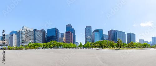 Fotografie, Obraz 丸の内 大手町エリアの高層ビル群