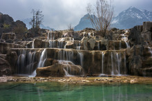 Waterfall In Jade Dragon Snow ...