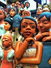 View Of Dolls In Shop