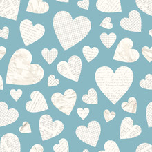 Vector Love Seamless Pattern W...