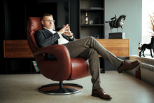 Boss In A Leather Chair