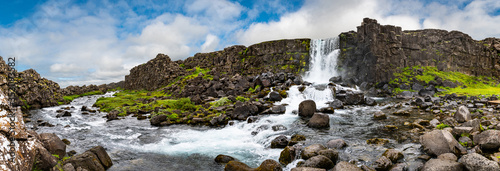 Fotografie, Obraz Thingvellir National Park in western Iceland