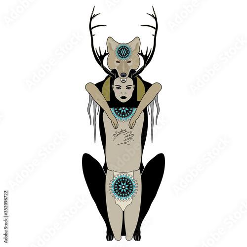 Native American mythology Tapéta, Fotótapéta