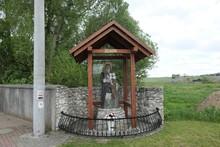 Shrine With A Figure Of Saint ...