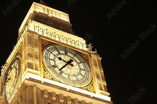Photo big ben clock tower