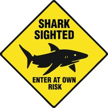 Shark Vector Warning Signs Danger