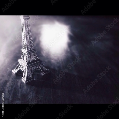 Fotografia View Of Eiffel Tower Toy