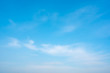 Blue sky and cloud on daytime