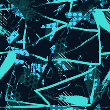 Abstract Seamless Chaotic Patt...