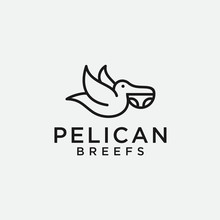 Pelican Logo / Briefs Icon