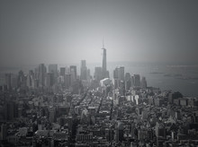 One World Trade Center And Cityscape Against Sky