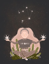 Magic Illustration Of The Zodi...