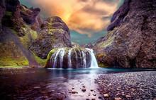 Amazing Icelandic Landscape. S...