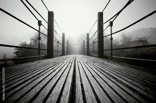 Photo Surface Level Of Footbridge