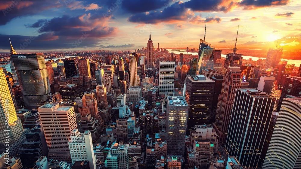 Fototapeta NEW YORK USA