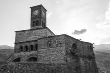 Gijrokaster Castle Clock Tower...