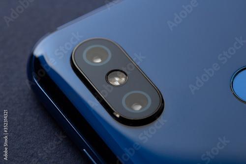 Mobile Phone Camera, flash lens. close up #352314321