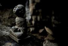 Close Up Of Small Buddha Figurine