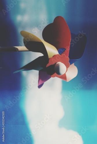 Fototapeta Close-up Of Pinwheel Toy