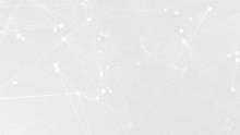 Abstract White Gray Polygon Te...