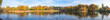 Panoramic View Of Lake And Trees