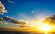 Leinwandbild Motiv Low Angle View Of Sky During Sunset