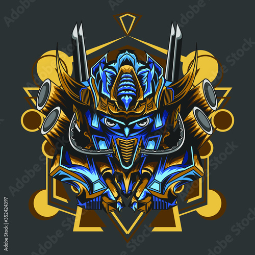 logo Optimus prime apparel icon, a personal logo, esport logo, and others Canvas Print