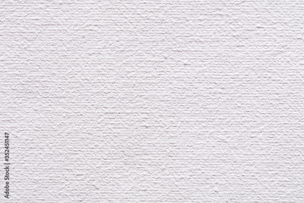 Fototapeta Natural canvas background in shiny white color as pat of your interior work.