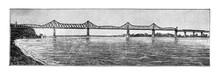 Donau Bridge Out Of 1895 / Ant...
