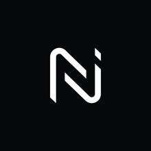 Professional Innovative Initial NJ Logo And JN Logo. Letter NJ JN Minimal Elegant Monogram. Premium Business Artistic Alphabet Symbol And Sign