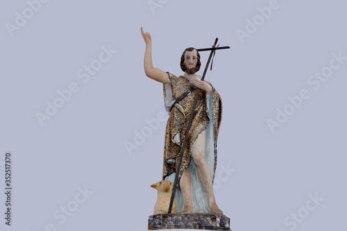 Saint John the Baptist catholic image Fototapet