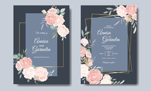 Elegant Wedding Invitation Ca...