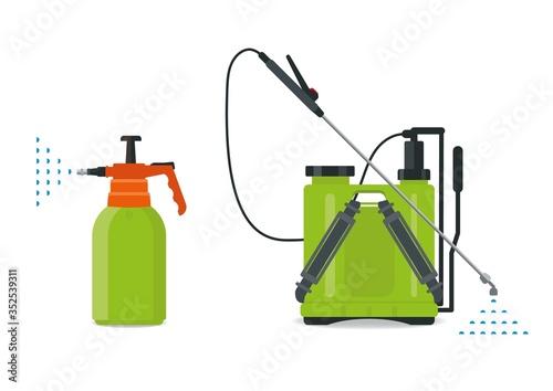Wallpaper Mural Garden manual plastic sprayer, manual and knapsack