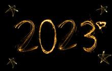 Frohes Neues Jahr 2023. Nummer...