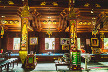 Local Temple In Chaing Mai. Th...