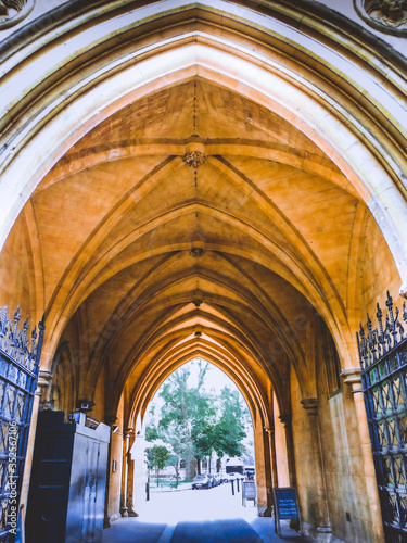 Fotografering Archway Of Building In City