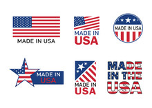 Made In Usa Icon For Product. ...