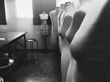 Mannequins In A Storage Room