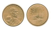 Sacagawea One Dollar Coin Of T...