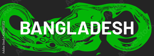 web Label Sticker Bangladesh Wallpaper Mural